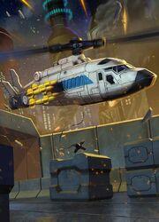 Alpha Bravo Helicopter Mode Transformers Legends Art