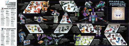 Transformers 1986 USA Catalog Decepticons