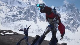 Arcee and Prime blasters