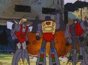 War of the Dinobots Dinobots Rebel