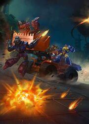 Transformers Legends Scoop Vehicle Mode