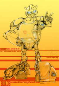 Vintage Bumblebee by Altitron