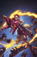 Transformers rid 11 cover colors by khaamar-d5qe9gf