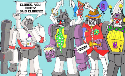 Send in the clones by BB Shockwave