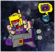 Blitzwing and Astrotrain by nkelsch