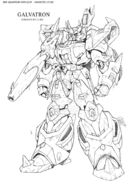 IDW Galvatron redesign by Guidoarts