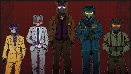 Combaticons dangerous men by nuclearstarlight-d5oowg0
