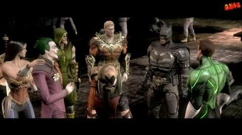 Injustice Gods Among Us Walkthrough Part 4 Story mode let's play gameplay Chapter 4 The Joker