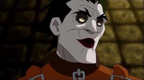 Batman Under the Red Hood- Joker pisses Batman off