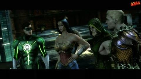 Injustice Gods Among Us Walkthrough Part 2 Story mode let's play gameplay Chapter 2 Green Lantern