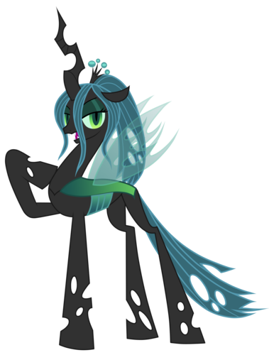 Queen Chrysalis alternate manestyle