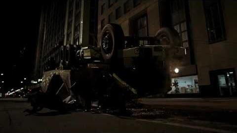 Batman The Dark Knight truck scene HD