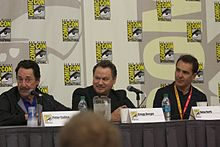 Transformers- Fall of Cybertron panel at SDCC 2012 (7587889806)