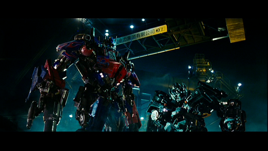 Optimus and Ironhide