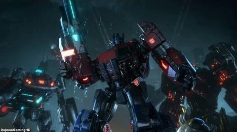 Transformers Fall of Cybertron 'Debut Trailer' TRUE-HD QUALITY