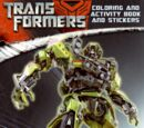 Transformers: Coloring and Activity Book and Stickers