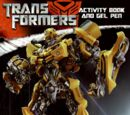 Transformers: Activity Book and Gel Pen