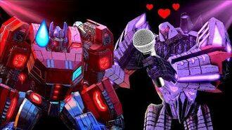 """Optimus Prime and Megatron Sing """"Love Is An Open Door"""" - Frozen (Ft. JobbyTheHong)"""