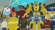 Burns Siblings with Heatwave, Chase, Bumblebee and Blades