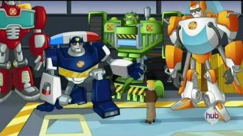 Transformers Rescue Bots The Alien Invasion of Griffin Rock HD