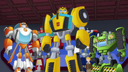 Cody, Bumblebee, Chase, Boulder and Blades