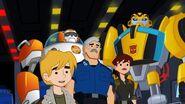 Cody, Dani, Charlie, Bumblebee and Blades