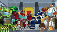 Rescue Bots are awake