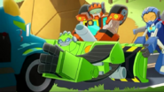 Whirl and Wedge help Boulder