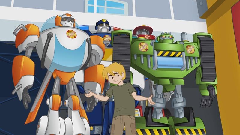 Transformers Rescue Bots Post 2