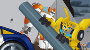 Blades and Bumblebee Save Their Friends
