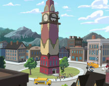 TimeAfterTime clock tower