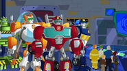 Rescue Bots and Burnses (Rise of the Heroes)