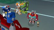 Rescue Bots and Cody with Optimus Prime (The New Recruits)