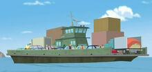 FourBotsAndABaby Griffin Rock ferry