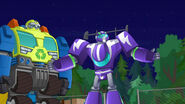 Salvage and Blurr (The New Recruits)