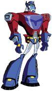 Optimus Cybertronian