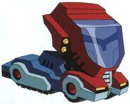 TFA Optimus Cybertron Vehicle