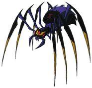 Blackarachnia spider