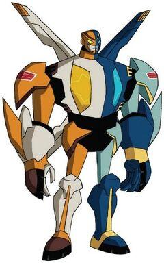 Tfanimated safeguard robot