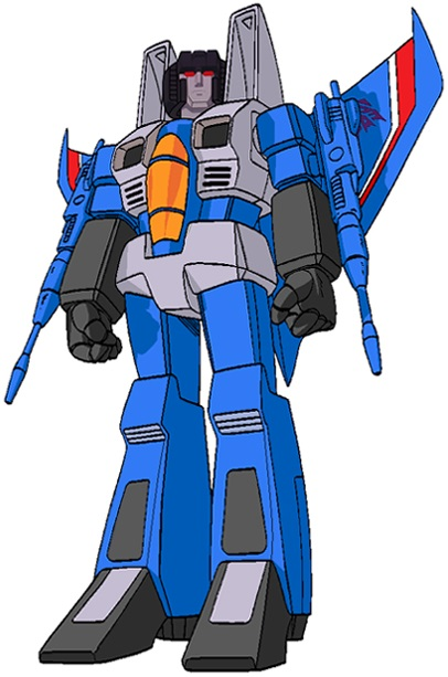 Transformers G1 Alt Mode Decepticon Thundercracker