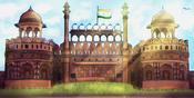Jour de l'Indépendance indienne 2015 - Carte
