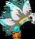 Casque de plumes chamane