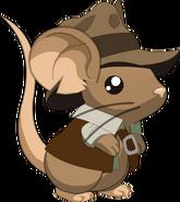 Fourrure de Indiana Mouse
