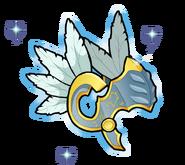 Badge HD - Casque de Lenneth