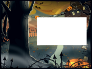 Login screen - Halloween 2015