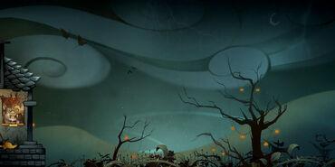 Halloween 2015 - Carte éclairs