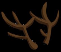 Bois de renne render