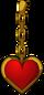 Coeur en bijou