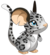 Fourrure de léopard des neiges