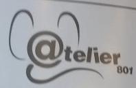 Atelier 801 - Logo bureaux